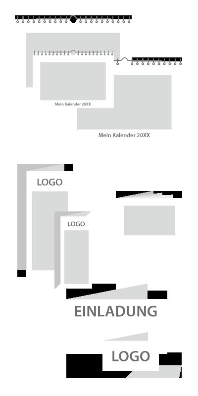 Piktogramme Drucksachen