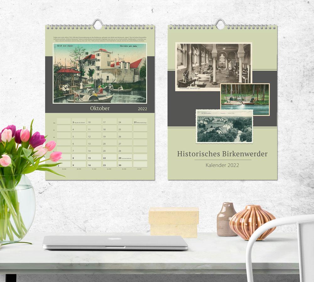 """Kalender """"Historisches Birkenwerder"""""""